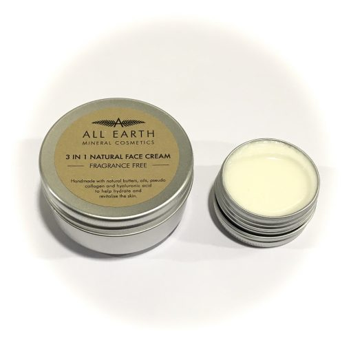 All Earth 3 in 1 natural Fragrance Free Face Cream