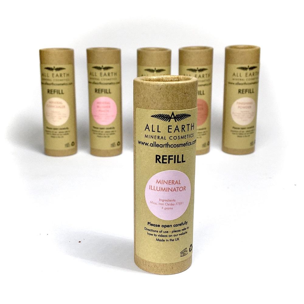 Beauty & Cosmetics Mineral Illuminator Refill