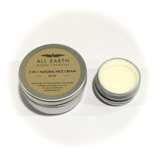 All Earth 3 in 1 natural Rose Face Cream